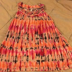 Ladies sleeveless tunic size medium